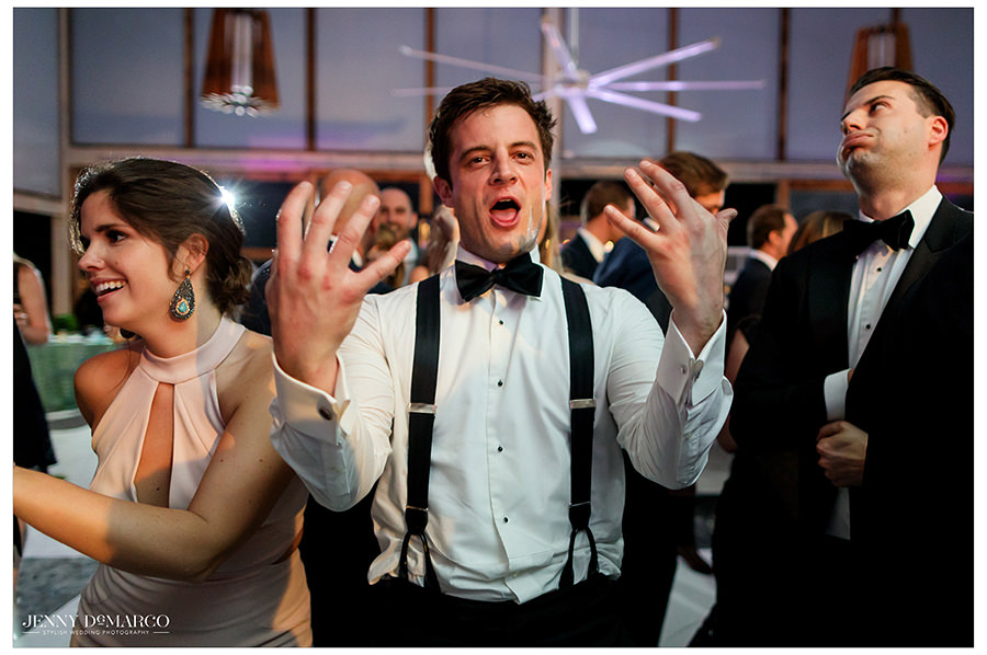 the best man breaks it down in the historic ballroom