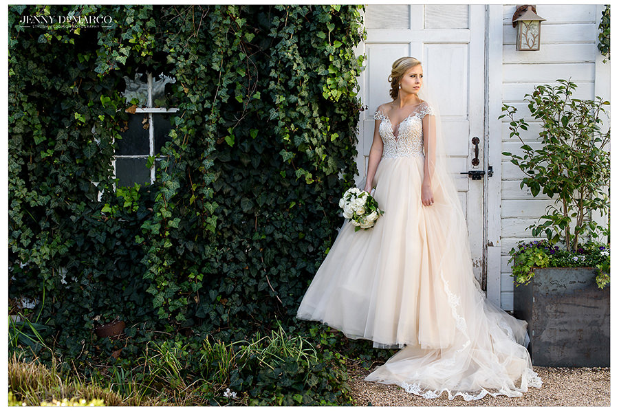Bridal Session at Barr Mansion