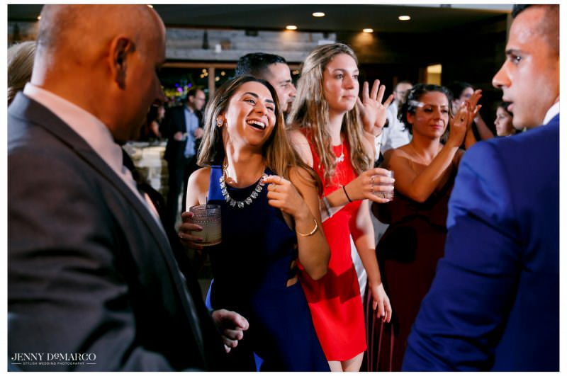 Guest starts to hit the dance floor.