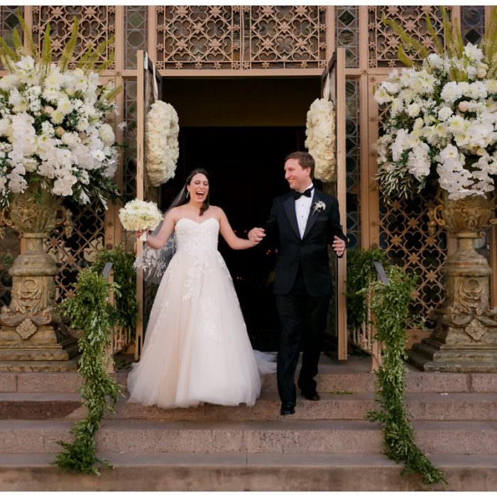OPULENT INDOOR GARDEN WEDDING TAKES OVER THE DRISKILL