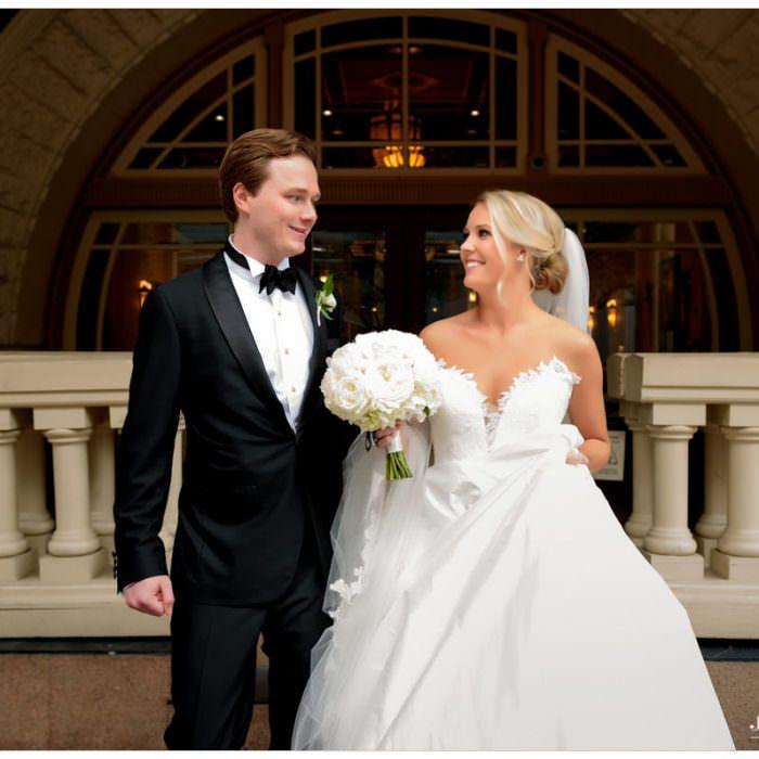 Elegant Wedding at the Driskill Hotel