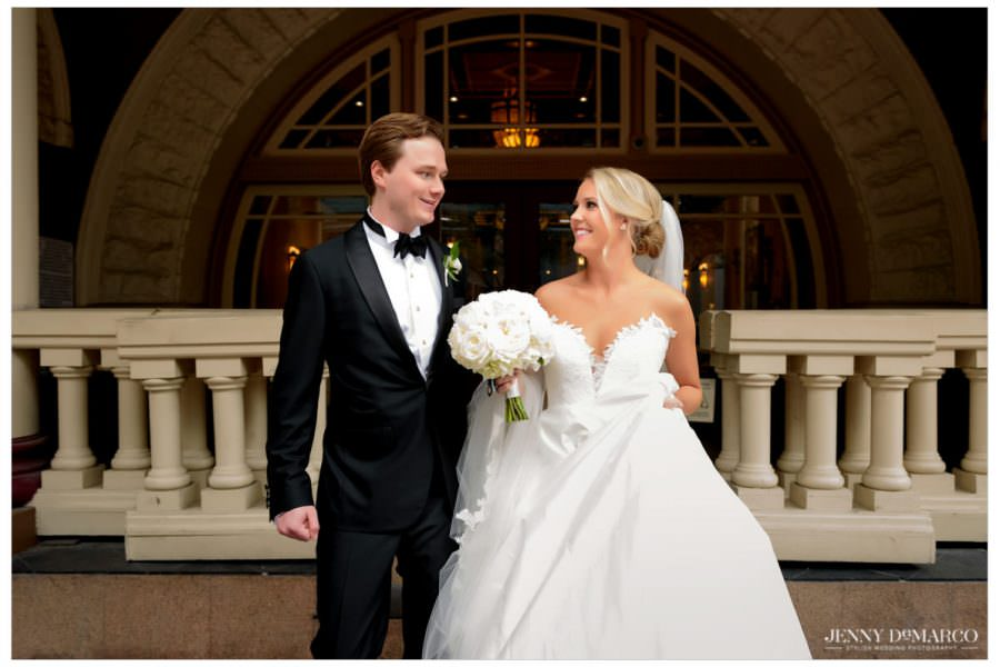 Elegant Wedding at the Driskill Hotel