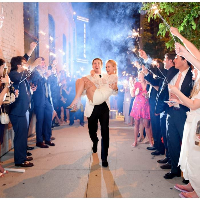 Modern Rooftop Wedding at Brazos Hall