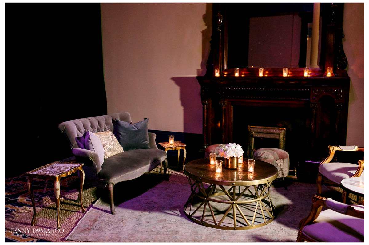 Intimate space for guests to commune.