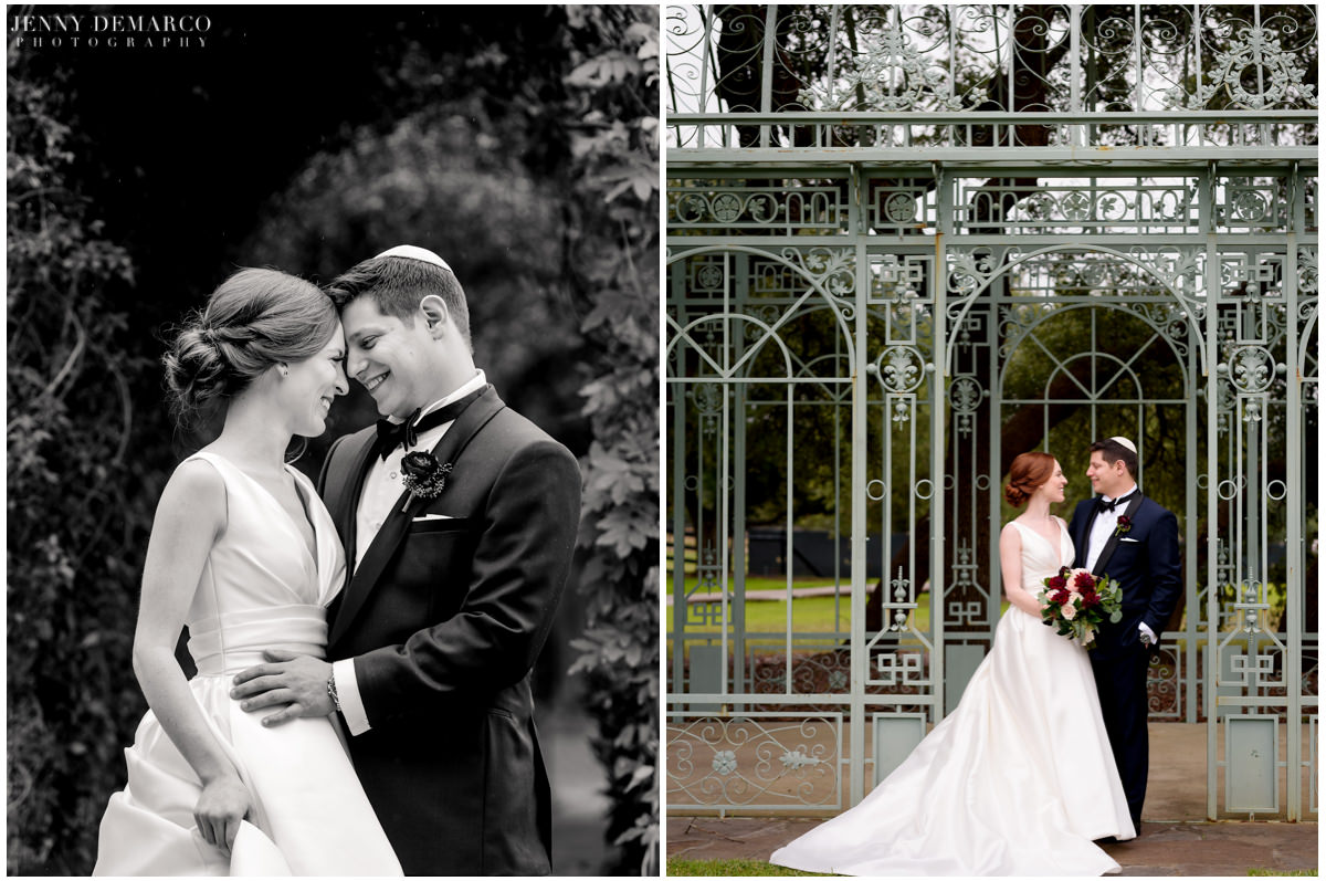 Intimate photos of the bride and groom.