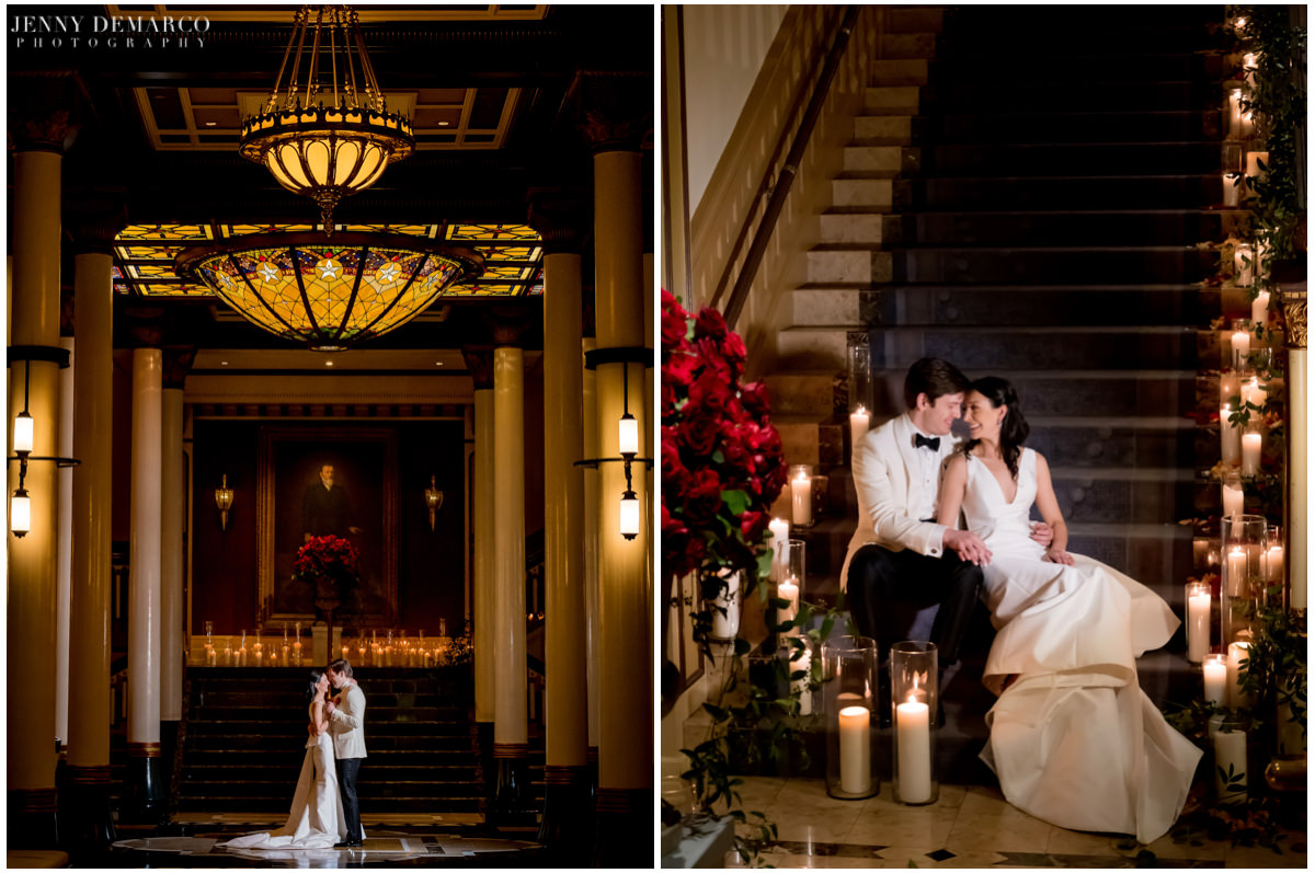 Intimate photos of the married couple in the Driskill.