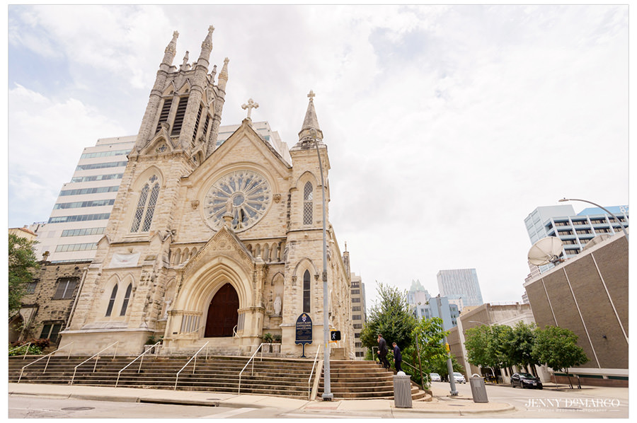 Saint Mary Cathedral in Austin, Texas