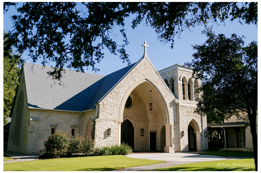 The Episcopal Church of Good Shepherd in Austin, Texas.