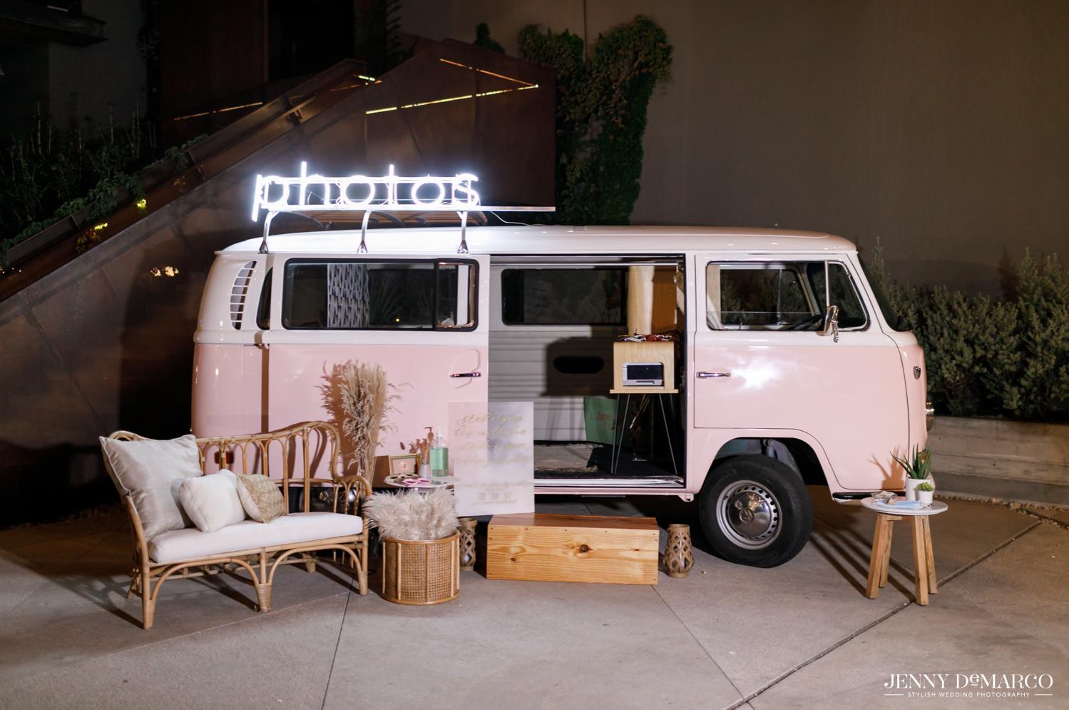 Volkswagen kick van photo booth