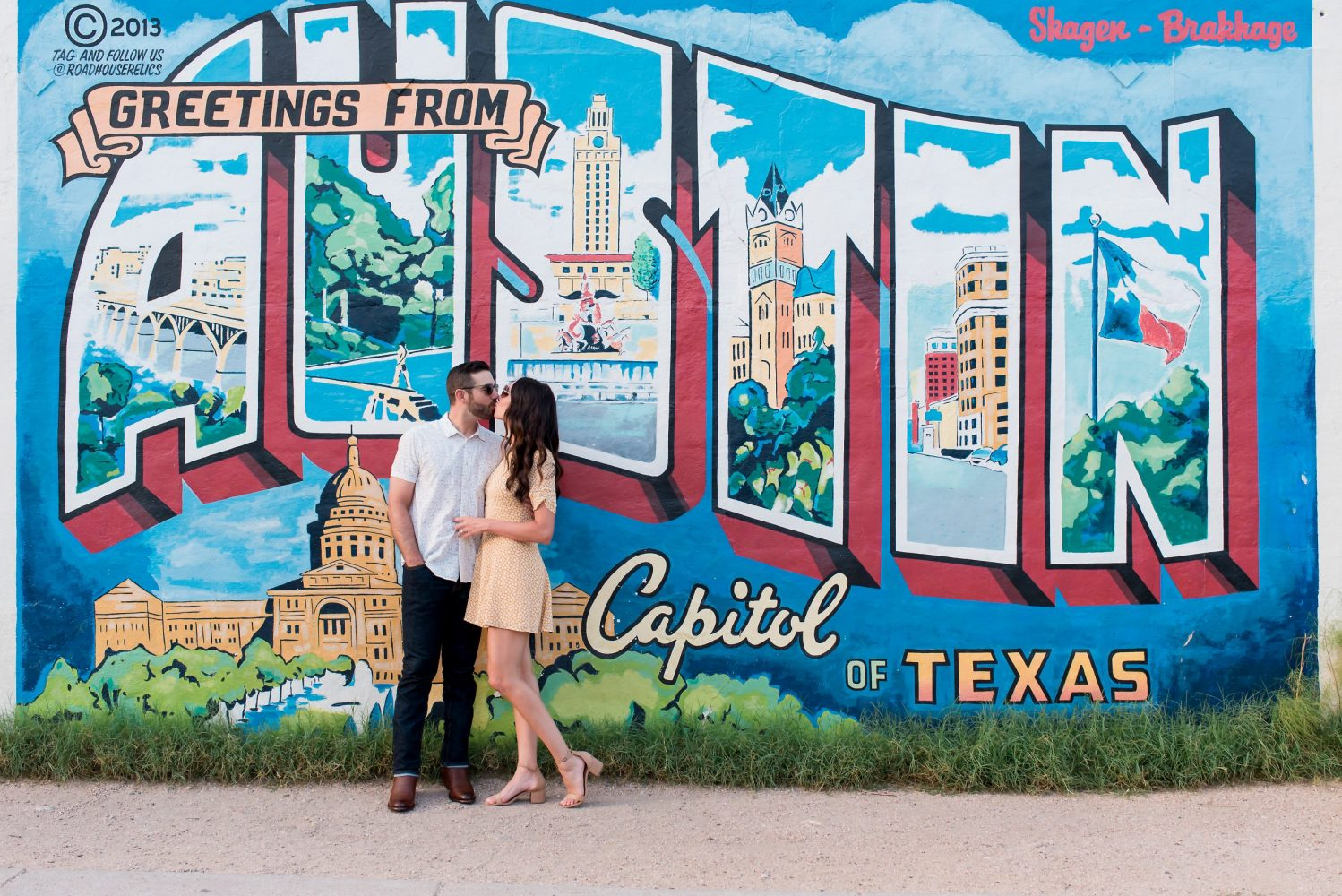 Austin, Texas engagement photography by Jenny DeMarco Photography